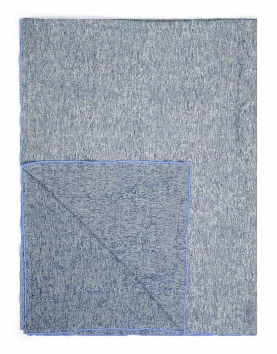 Marc O'Polo Arez Blue Plaid 150 x 200 cm