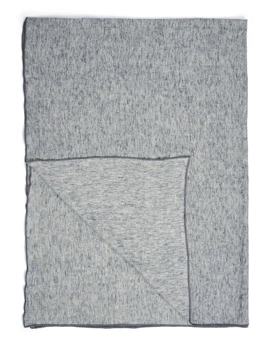 Marc O'Polo Arez Grey Plaid 150 x 200 cm