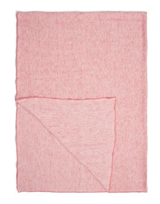 Marc O'Polo Arez Pink Plaid 150 x 200 cm