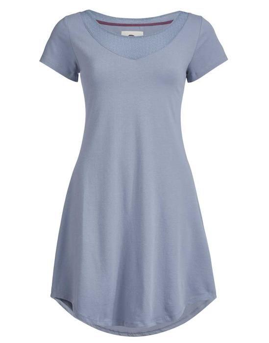 ESSENZA Arine Faded Blue Nachthemd XS