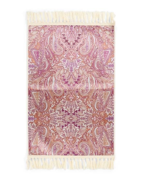 ESSENZA Boheme Rhabarber Teppich 60 x 90 cm