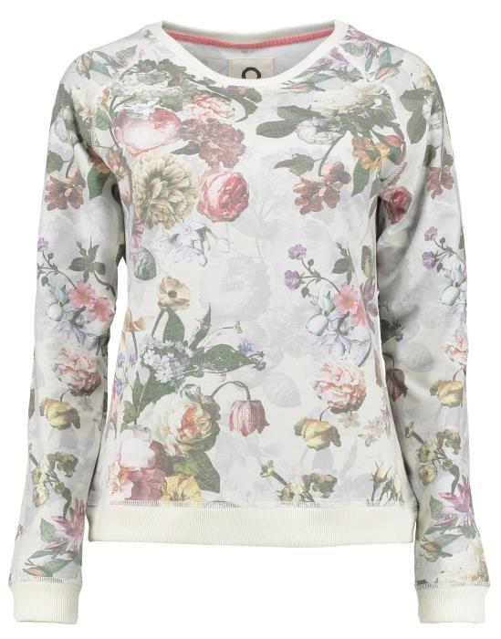 ESSENZA Celine Fleur Ecru Sweater XL