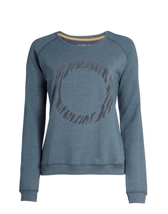 ESSENZA Celine Uni Grau Sweater XS