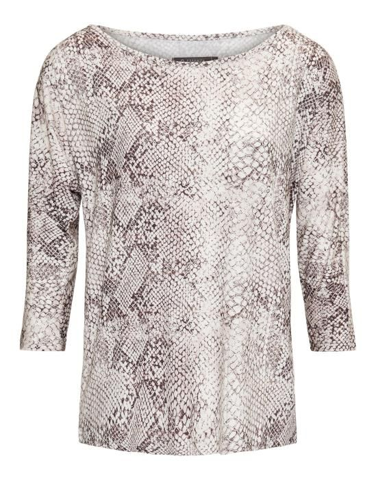 ESSENZA Donna Doutzen Meringue Top ¾ Arm XS