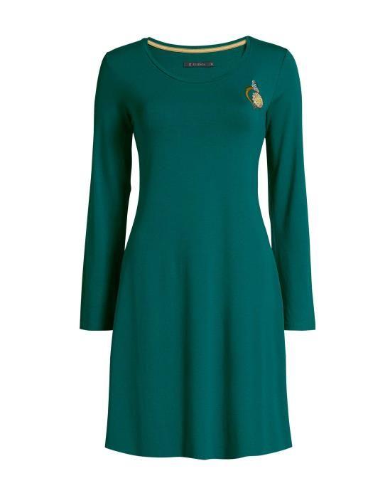 ESSENZA Elm Uni Emerald Nachthemd XS