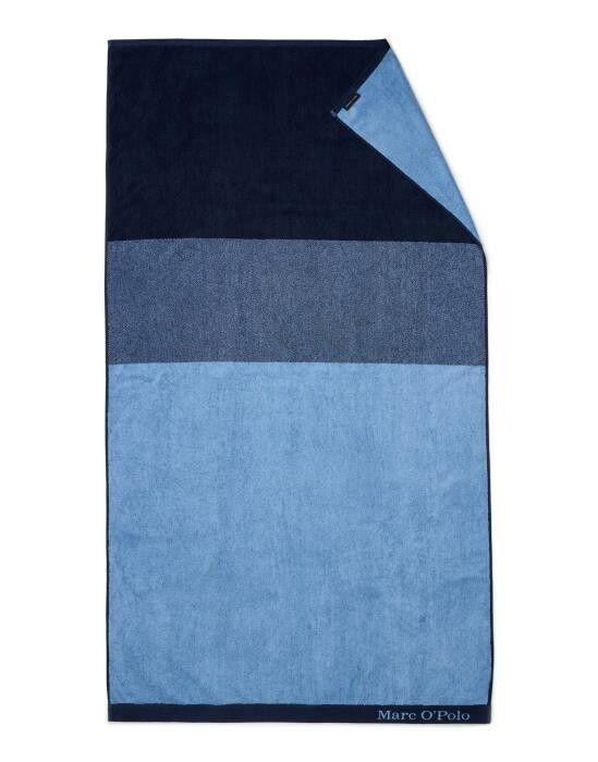 Marc O'Polo Horizon Blau Strandhandtuch 100 x 180 cm