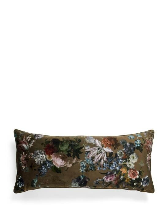 ESSENZA Isabelle Dunkelbraun Cushion large 40 x 90 cm