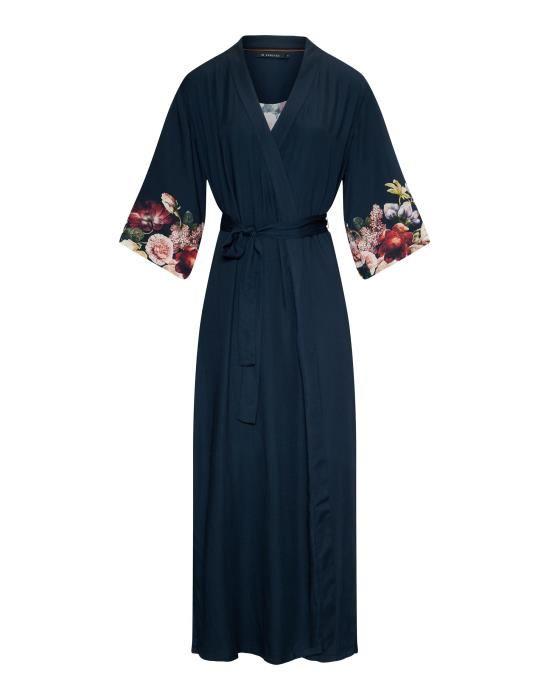 ESSENZA Jula Anneclaire Indigo Blue Kimono XS