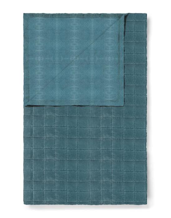 ESSENZA Julia Denim Tagesdecke 180 x 265 cm