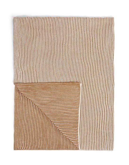 Marc O'Polo Kuha Warm Pecan Plaid 130 x 170 cm