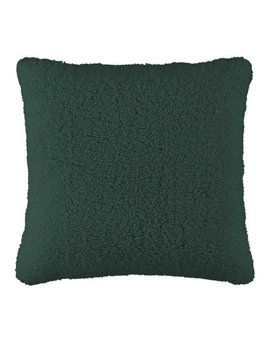 ESSENZA Lammy Pine Green Dekokissen 50 x 50 cm