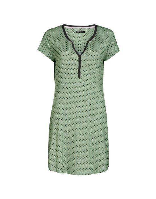 ESSENZA Lois Mini Grün Nachthemd L