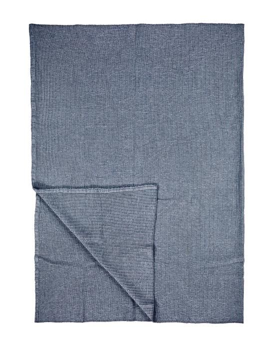 Marc O'Polo Loria Dark blue Plaid 150 x 200 cm