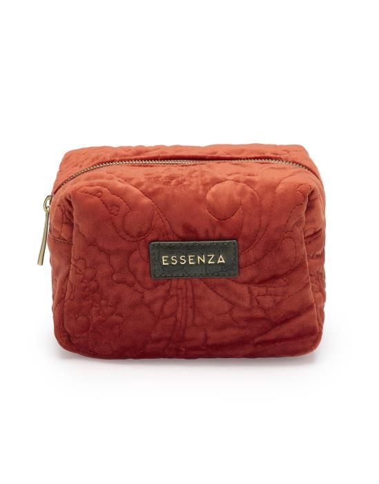 ESSENZA Lucy Velvet Chili Schminktasche Small