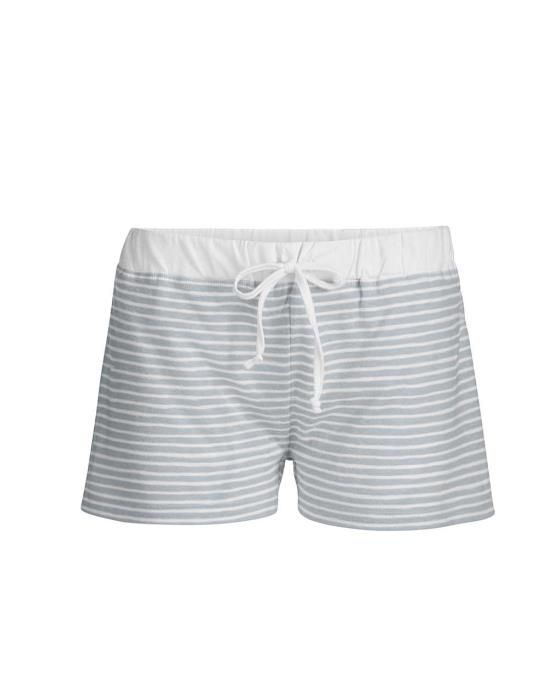 ESSENZA Roques Stripe Faded Blue Kurze Hose XS