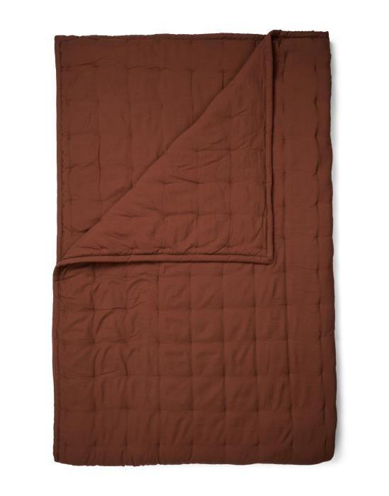 ESSENZA Ruth Shell brown Plaid 150 x 200 cm