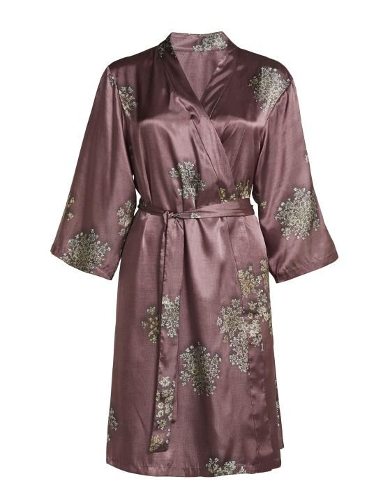 ESSENZA Sarai Lauren Dusty Rose Kimono XS