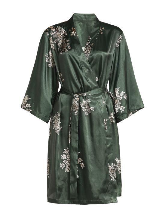 ESSENZA Sarai Lauren Grün Kimono XS