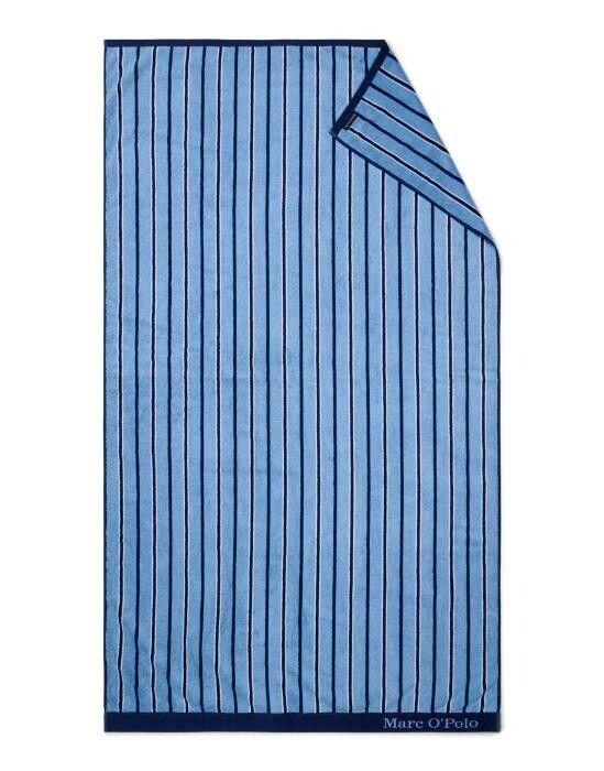 Marc O'Polo Verta Blau Strandhandtuch 100 x 180 cm