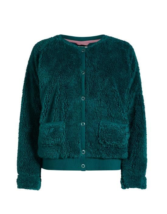ESSENZA Vic lammy Emerald Jacke S