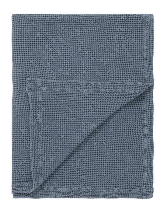 Marc O'Polo Viron Blau Plaid 130 x 170 cm