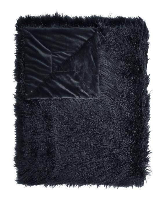 ESSENZA Vita Nightblue Plaid 140 x 200 cm