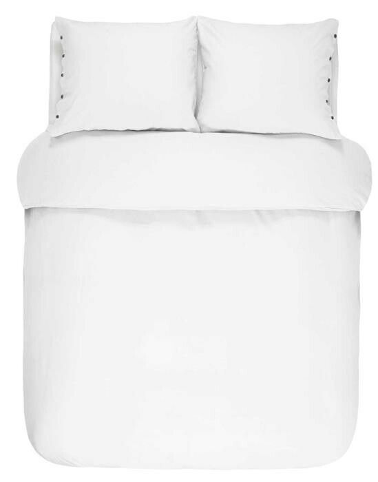 Marc O'Polo Washed Linen Weiß Kissenbezug 40 x 40 cm