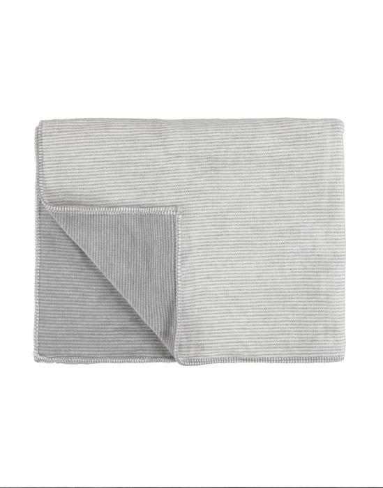 Marc O'Polo Zarr Grey Plaid 150 x 200 cm