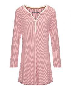 ESSENZA Acacia Striped Rhabarber Nachthemd XS