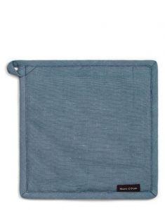 Marc O'Polo Akalla Smoke Blue Topflappen 22 x 22 cm