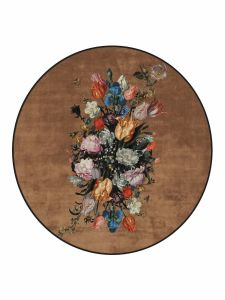ESSENZA Beautiful Bouquet Braun Teppich klein 90 cm