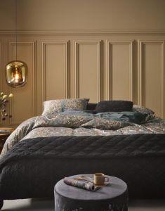 ESSENZA Billie Nightblue Tagesdecke 270 x 265 cm