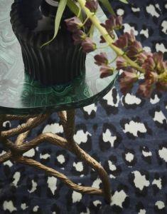 ESSENZA Bory Blau Teppich 180 x 240 cm