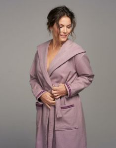 ESSENZA Brooke Dusty Lilac Bademantel XL