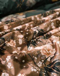 ESSENZA Charlize Cashew Tagesdecke 270 x 265 cm