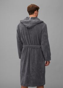 Marc O'Polo Classic (with hood) Anthrazit Bademantel S