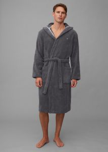 Marc O'Polo Classic (with hood) Anthrazit Bademantel M