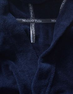 Marc O'Polo Classic (with hood) Navy Bademantel XL