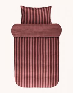 Marc O'Polo Classic Stripe Warm Earth Bettwäsche 155 x 220 cm
