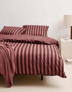 Marc O'Polo Classic Stripe Warm Earth Bettwäsche 135 x 200 cm