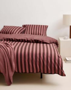 Marc O'Polo Classic Stripe Warm Earth Kissenbezug 40 x 40 cm