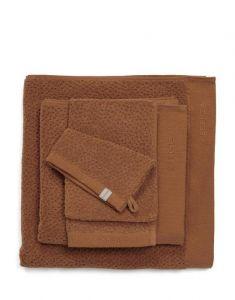 ESSENZA Connect Organic Breeze Leather Brown Gästetuch 30 x 50 cm