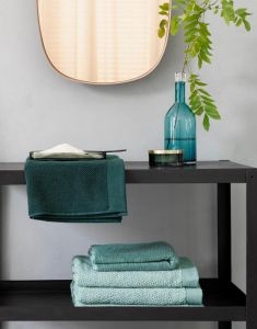 ESSENZA Connect Organic Breeze Handtuch Set Grün