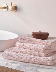 ESSENZA Connect Organic Breeze Handtuch Set Rosa