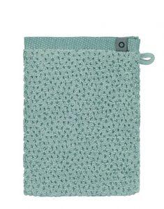 ESSENZA Connect Organic Breeze Grün Waschhandschuhe 16 x 22 cm