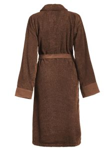 ESSENZA Connect Organic Uni Leather Brown Bademantel XL
