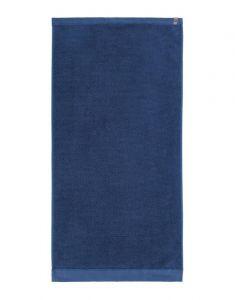 ESSENZA Connect Organic Uni Blau Handtuch 60 x 110 cm