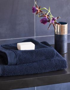 ESSENZA Connect Organic Uni Handtuch Set Blau