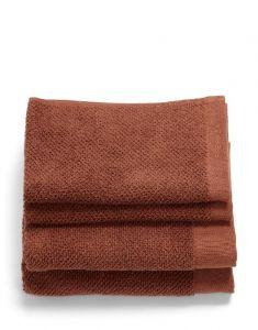 ESSENZA Connect Organic Uni Warm Braun Handtuch Set 30 x 50 cm set
