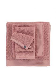 ESSENZA Connect Organic Uni Rose Waschhandschuhe 16 x 22 cm